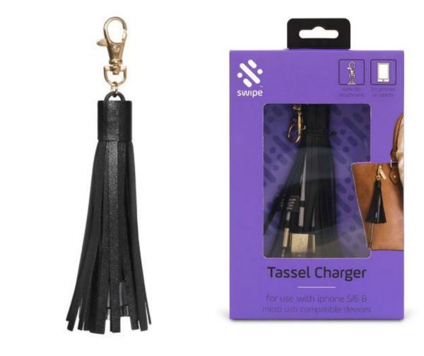 handbag tassel charger
