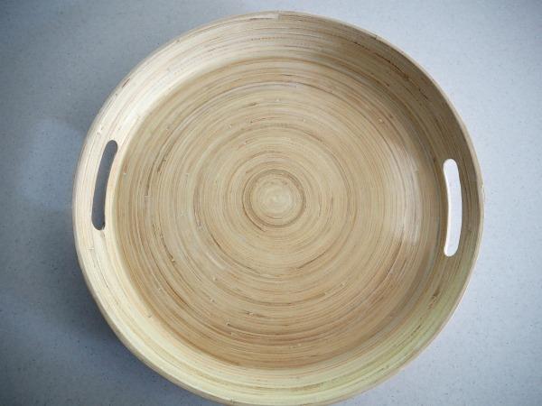 bamboo platter from kmart