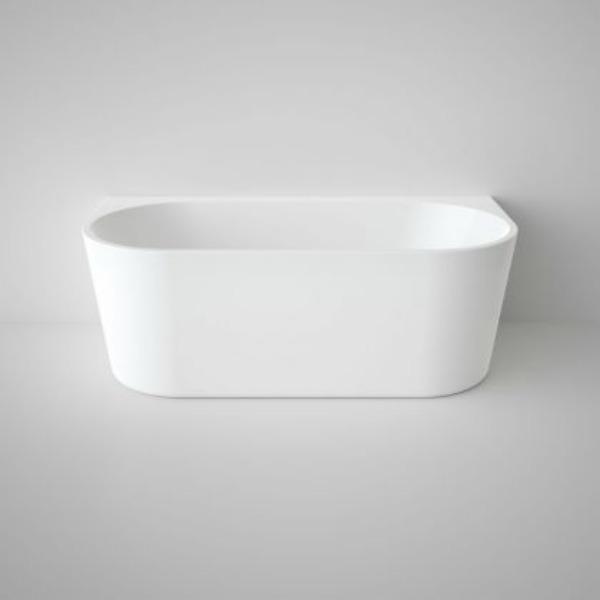 Caroma Aura Back to wall freestanding bath