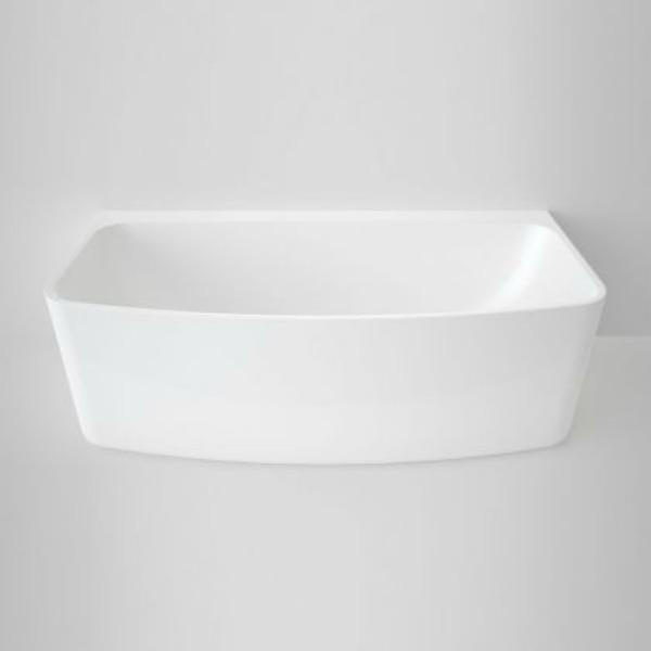 Caroma Back to Wall freestanding bath