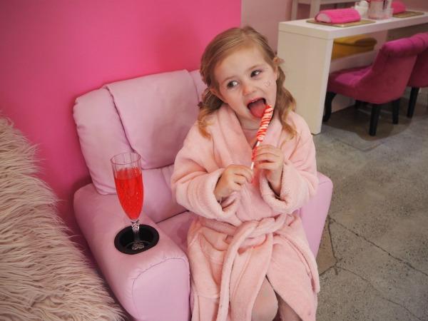 children's pamper salon