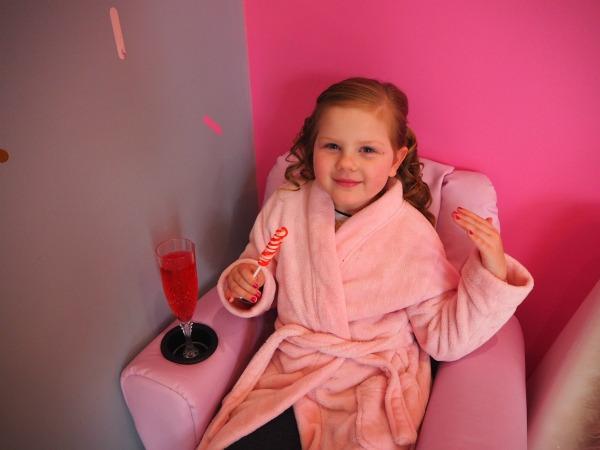 pamper salon for children