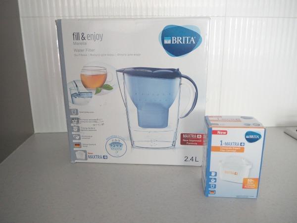 BRITA filtered tap water