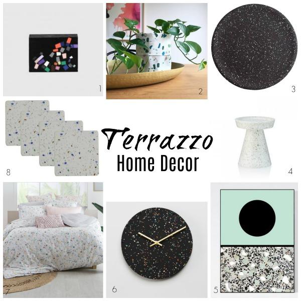 Terrazzo homewares