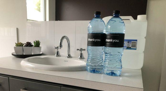 bottled water for emergencies