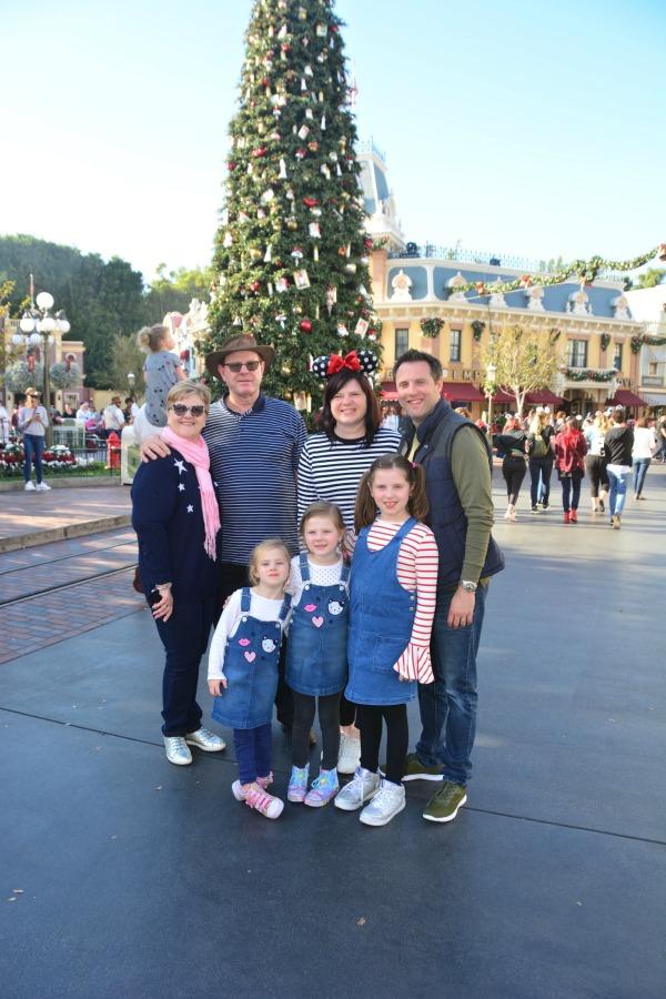 In Disneyland USA