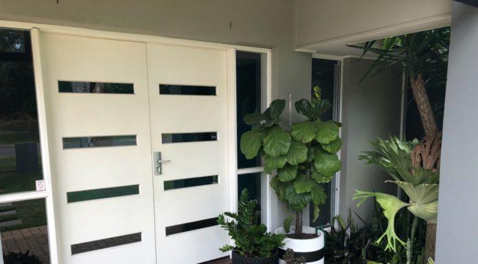 custom designed front door mats