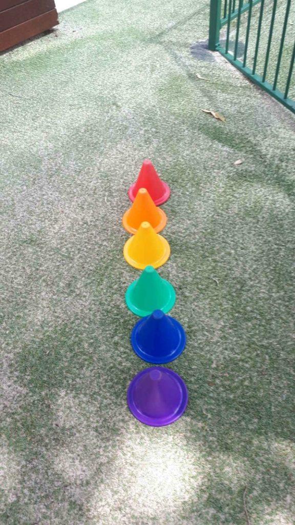 rainbow at kindy
