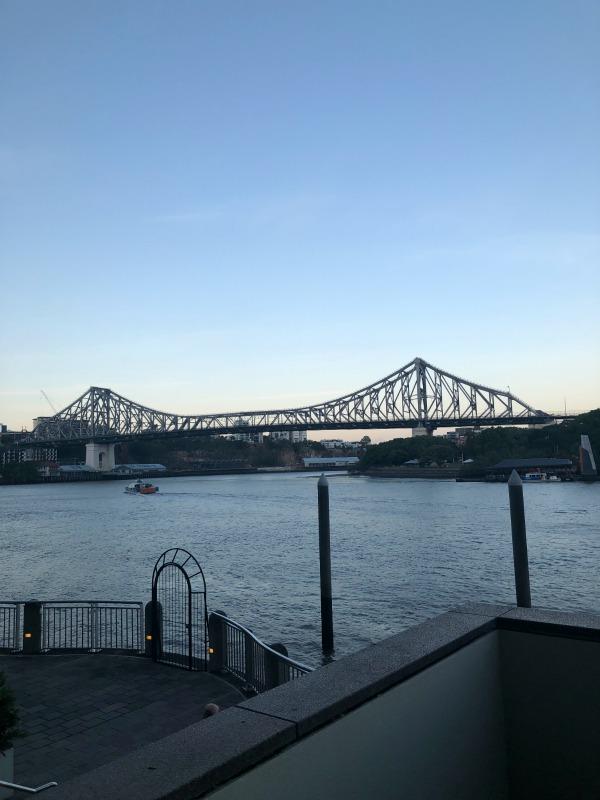 Storey Bridge view from Alchemy Restaurant and Bar