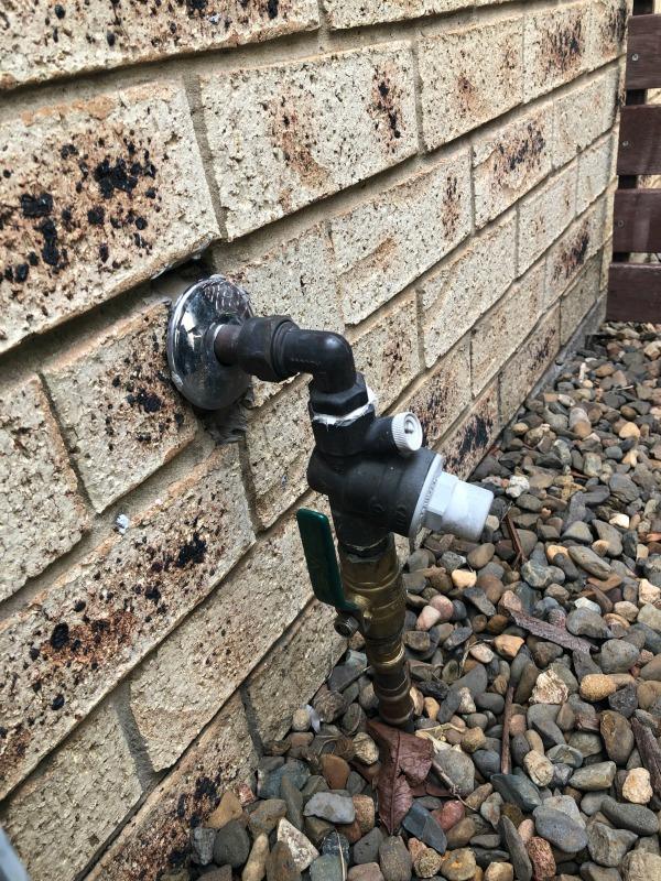 stop tap ball valve