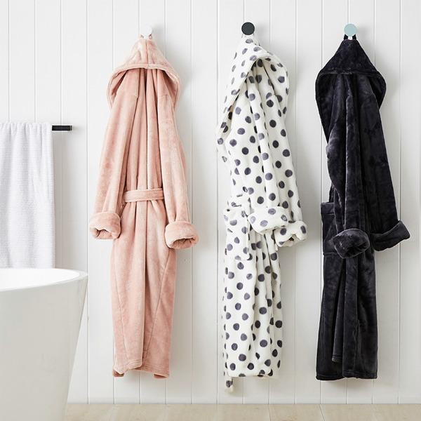 adairs bathrobes