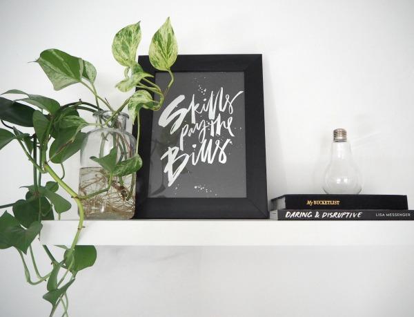 shelfie desk style