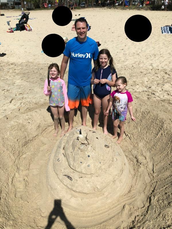 easter egg sand