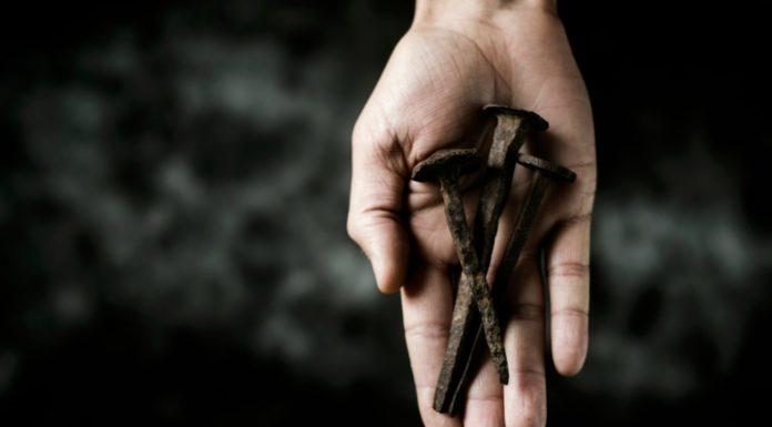 three nails and a hammer