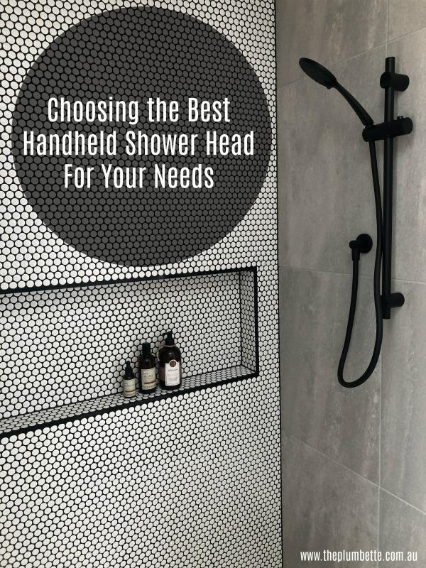 Choosing the Best Handheld Shower Head For Your Needs