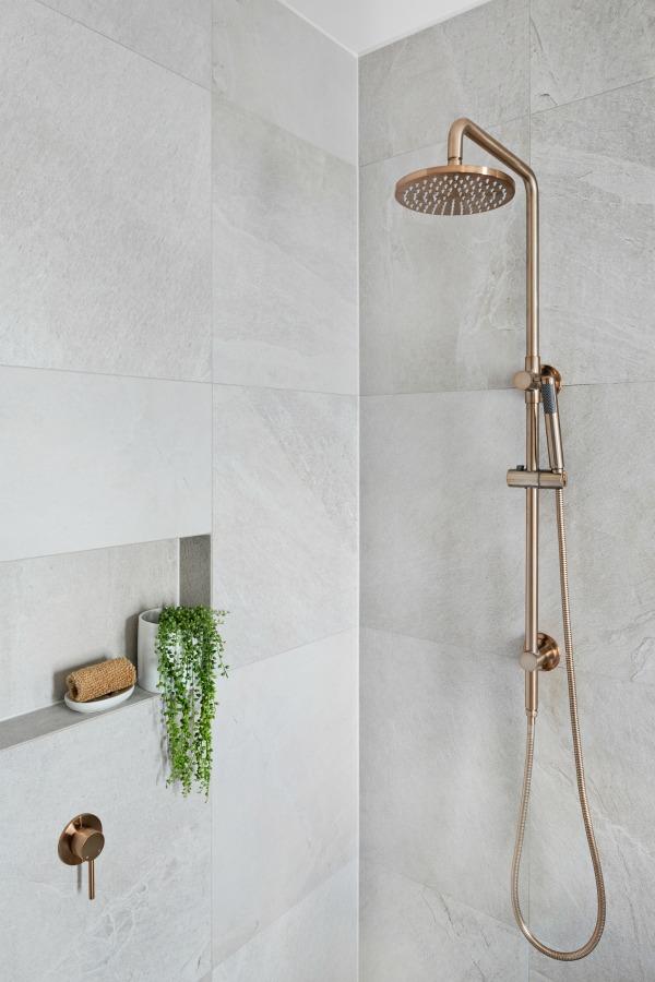 Rose Gold Handheld Shower