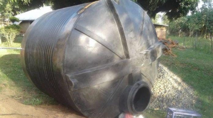Rainwater Tank takes a village to help a village