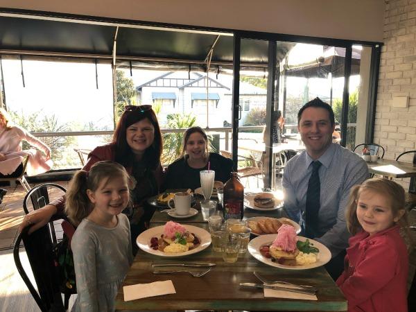 Breakfast at Orio Alstonville