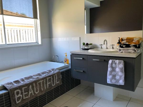 colour code kids bath towels spotlight the plumbette