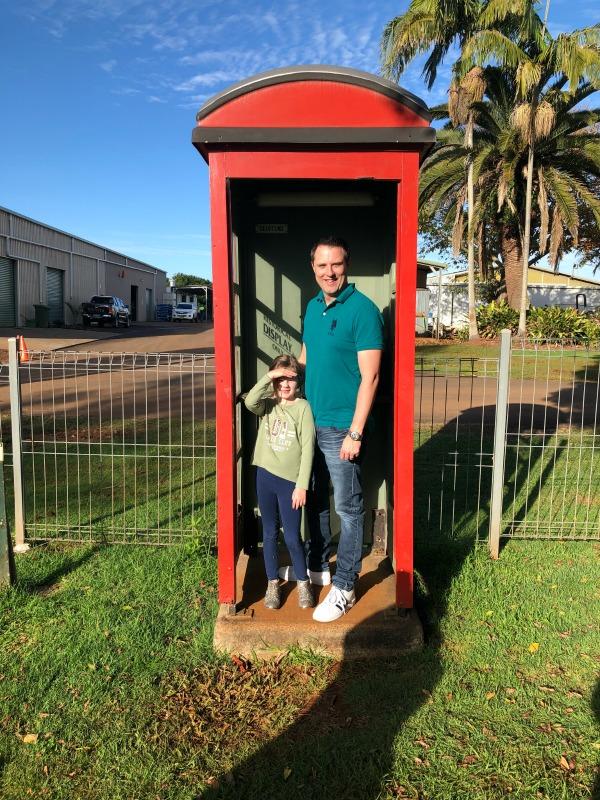Summerland Farm House Phone Box