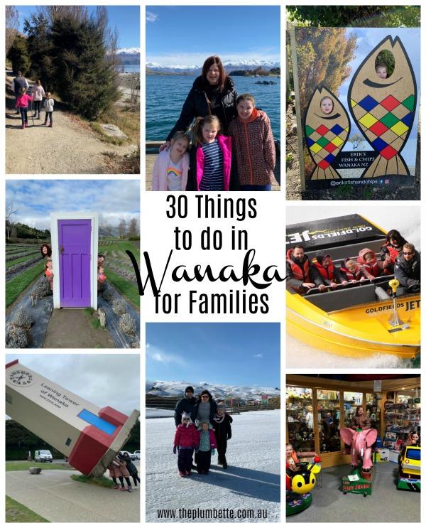 30 family friendly activties in Wanaka