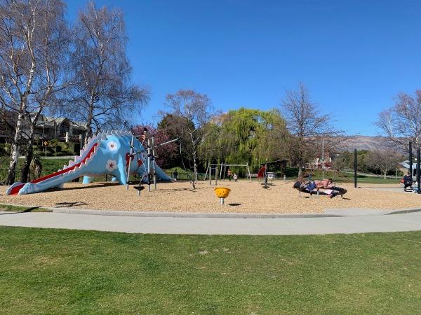 dinosaur park Lake Wanaka