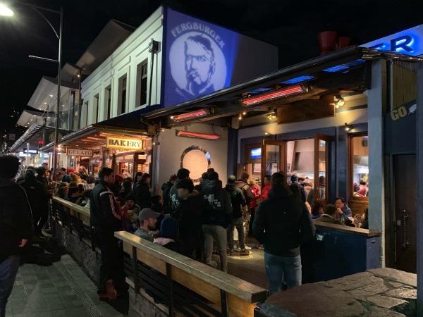 Fergburger in Queenstown 24 hours in Queenstown