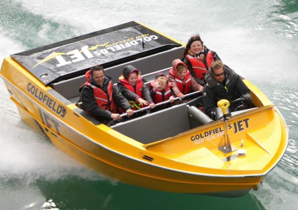 Gold Fields Jet Boat