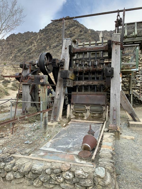 stamper battery goldfields mine