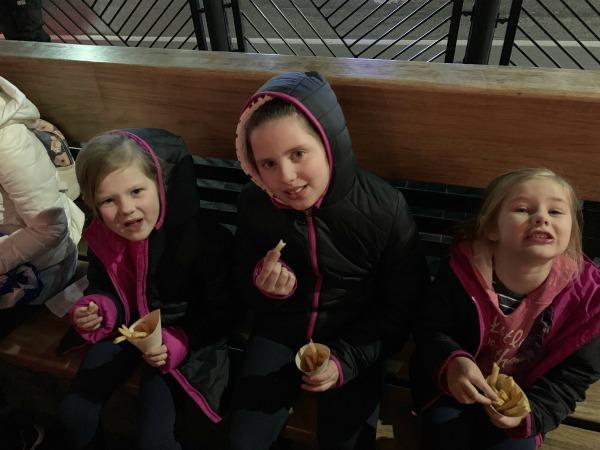 hot chips at Fergburger