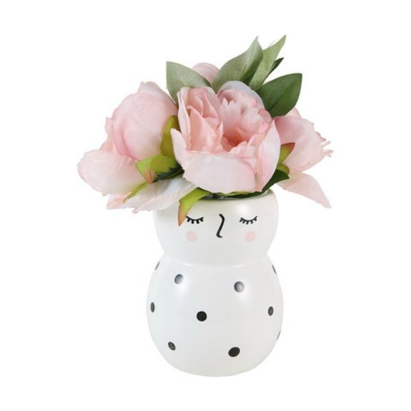 Kmart face vase