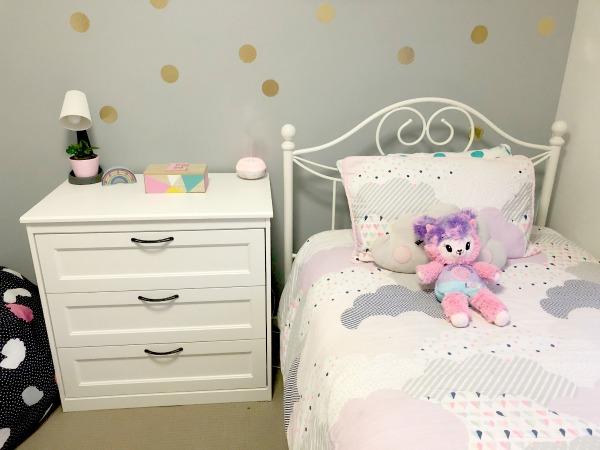 Tween girl bedroom update ikea white dresser