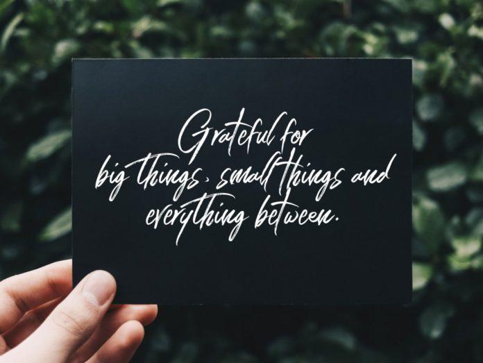 A big december, grateful