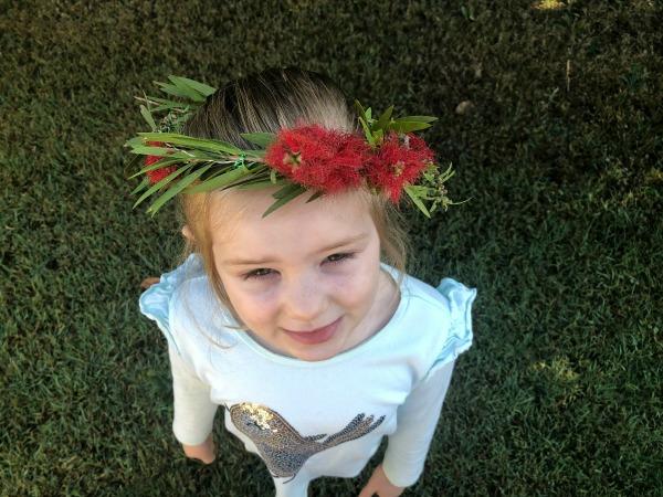May Gibbs Bottlebrush Flower Crown
