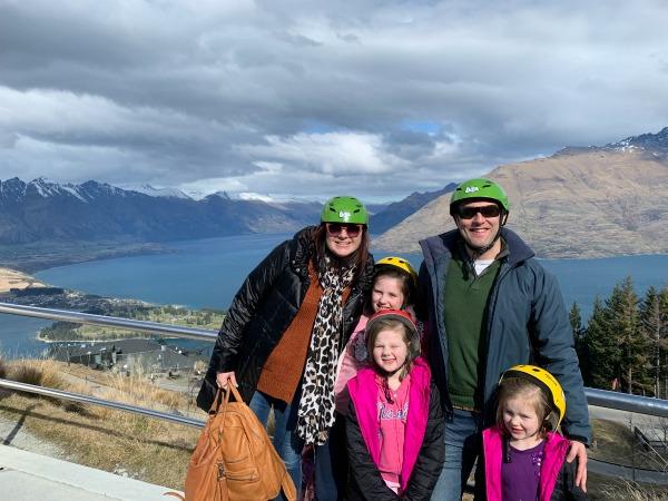 Queenstown New Zealand Family Trip