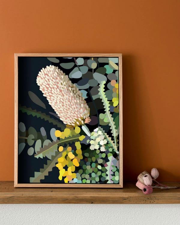 Kimmy Hogan Bloom VI2 Australian Flower Artwork