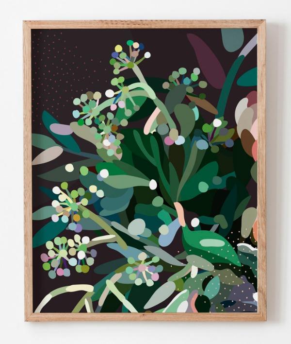 Kimmy Hogan Australian Native Flower Print