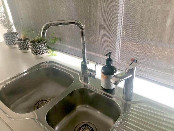 Zip Hydrotap Maintenance Hydrotap in kitchen sink