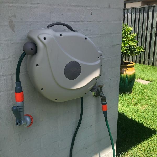 home maintenance retractable hose reel