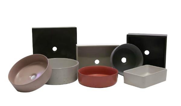 coloured concrete basins fr