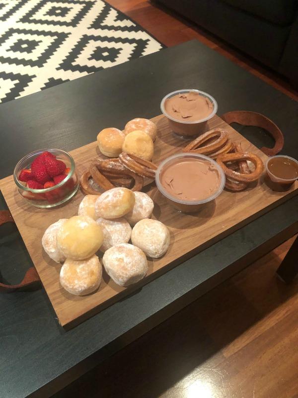 opporto dessert platter for 2
