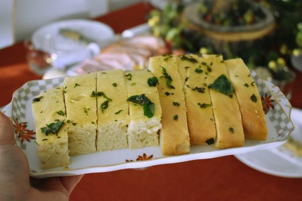 focaccia style bread