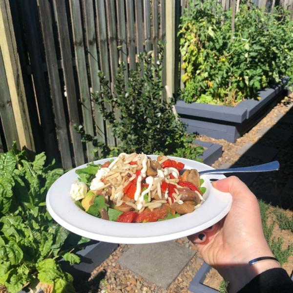 veggie fry up salad