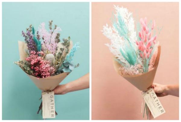 Gather Australia Dried Flower Arrangement