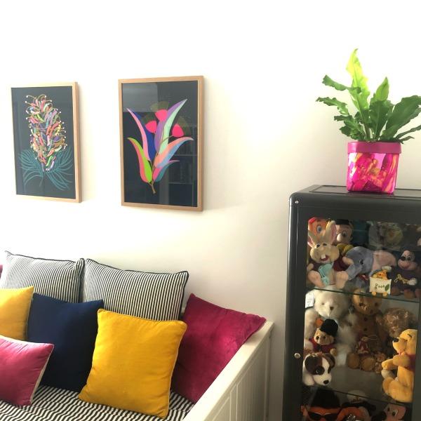 playroom with hayley Wills prints