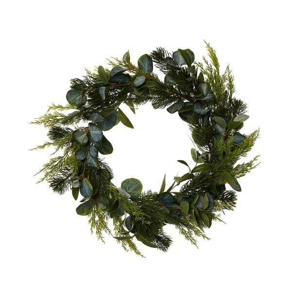 Adairs Blue Gum Native Wreath