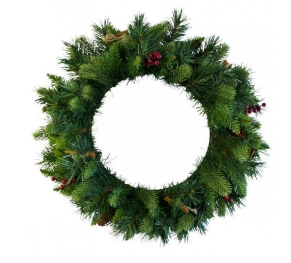 Christmas Warehouse Realistic Artifical Christmas Wreath
