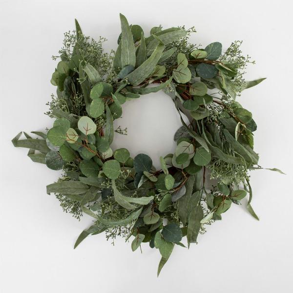 Pillow Talk Native Christmas Wreath