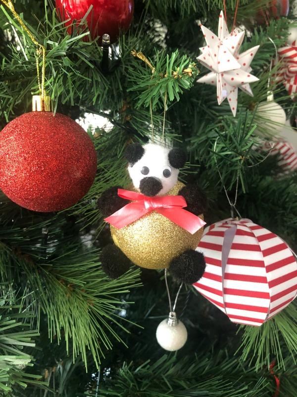 Christmas Bear Bauble