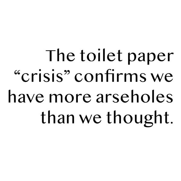 toilet paper crisis meme